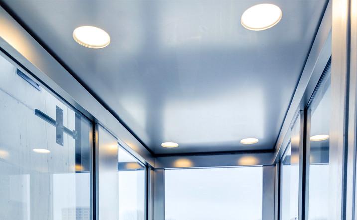 Lift led-verlichting saproco